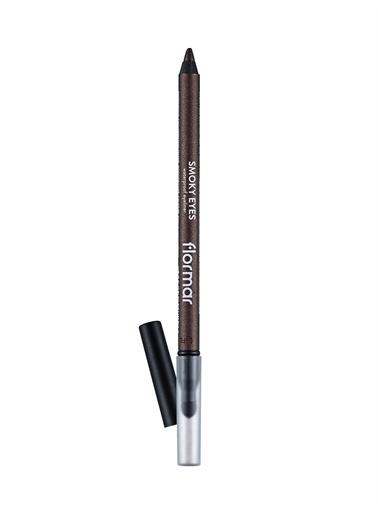 Flormar Smoky Eyes Waterproof Eyeliner Suya Dayanıklı Çarpıcı Bronz Göz Kalemi  006 Siyah